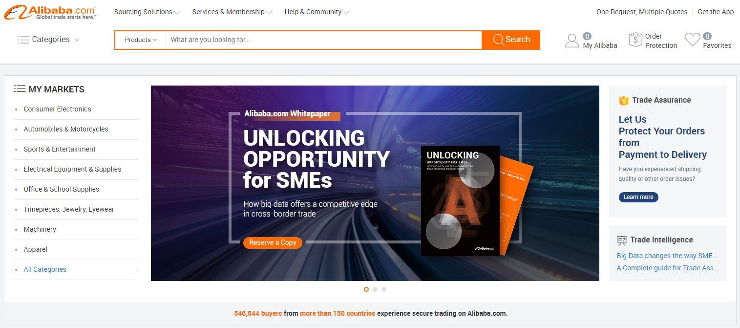 Alibaba - договаривайтесь с поставщиками и работайте по удобной схеме дропшиппинга