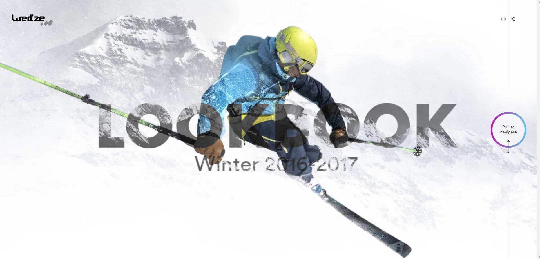 Сайт про зимний спорт